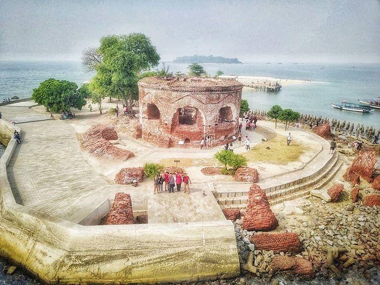 Benteng Martello di Pulau Kelor, sumber ig grace.tanjo