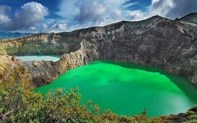 Danau Kelimutu, Keindahan Alam Yang Sejuk dan Berwarna