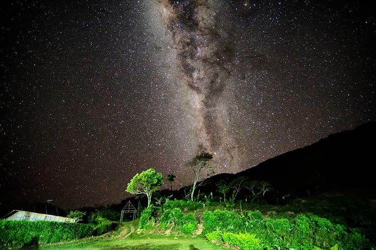 Malam Hari di Wae Rebo Labuan Bajo, sumber ig stefanuscendrahogi