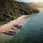 Pantai di Goa Rangko, sumber ig eryradixa