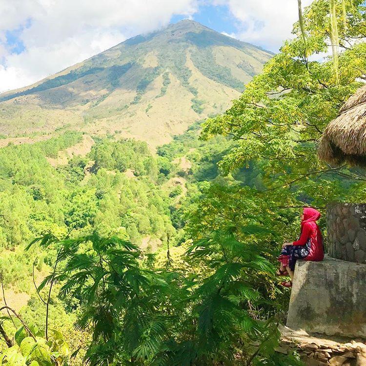 Gunung Inerie, sumber ig riska_rahmawati