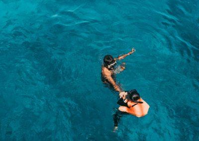 08. Berenang di laut yang tenang, open trip labuan bajo 2019