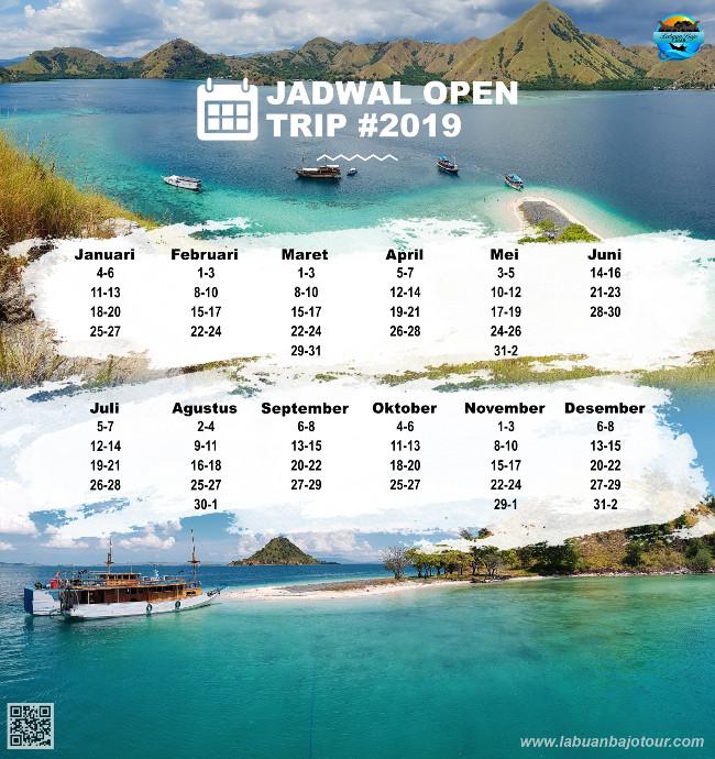 Gambar Jadwal Open Trip Labuan Bajo 2019