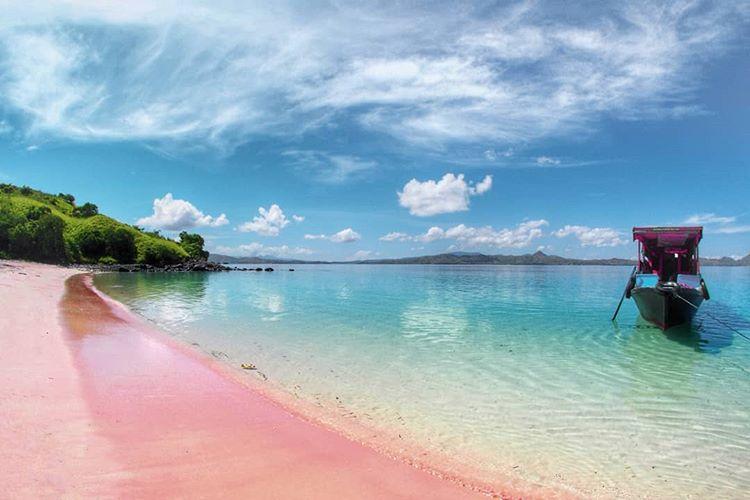 Pantai di Labuan Bajo, sumber ig gilarpurwagautama