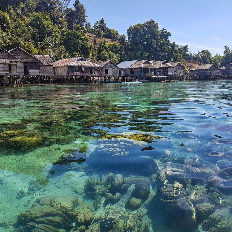 Pemukiman Suku Asli Labuan Bajo, sumber ig wdkds