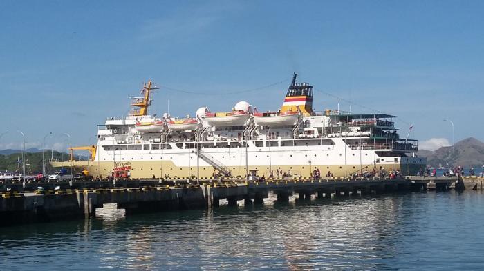 Pelabuhan Peti Kemas Labuan Bajo, sumber kupang.tribunnews.com