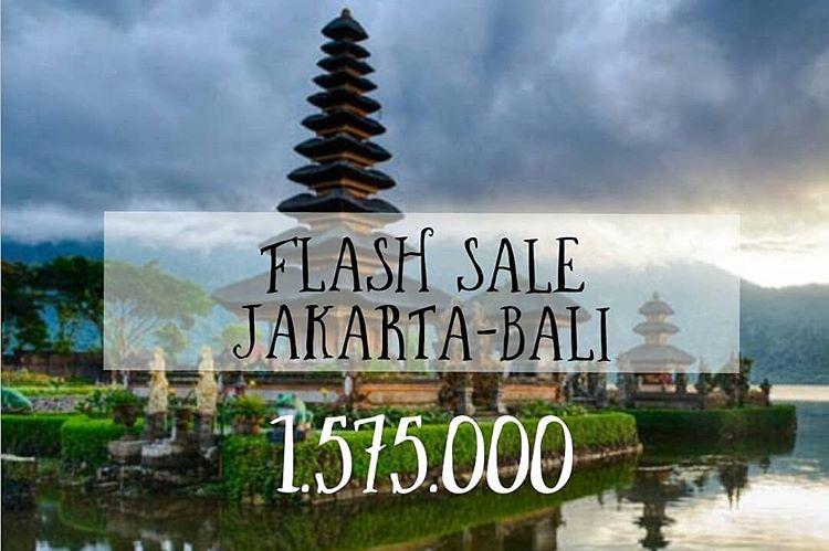 Ilustrasi Promo Tiket Pesawat Jakarta - Bali, sumber ig radwa.shop