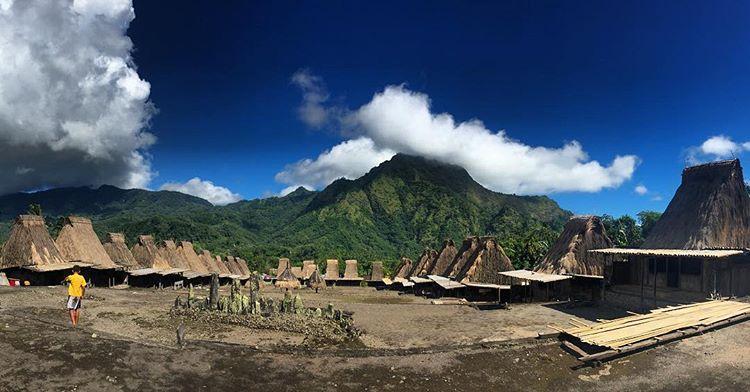 Kampung Gurusina yang Telah Ada Sejak Megalitikum