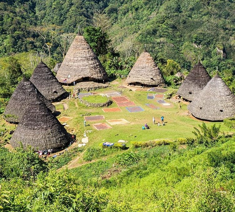 Kampung Wae Rebo, sumber ig sunrice.homestay